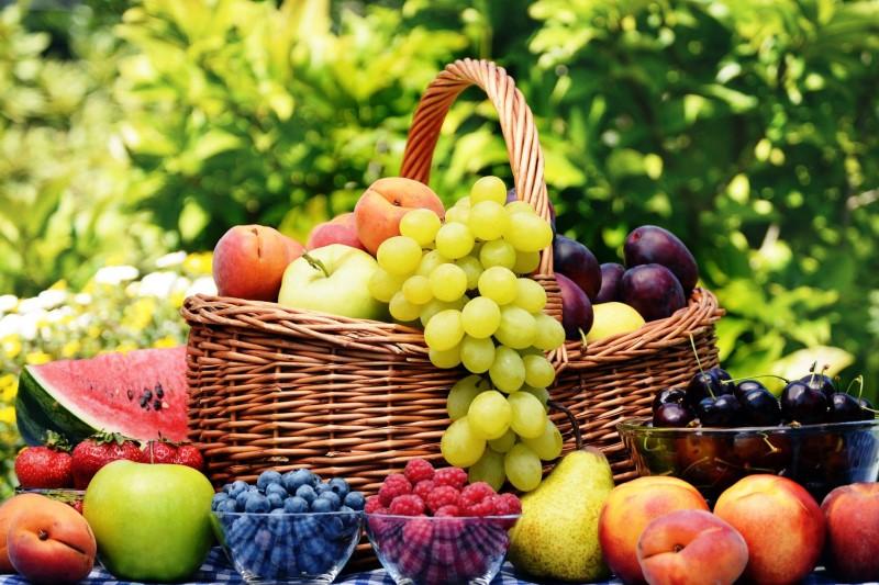 خواص رنگ میوهها و گیاهان