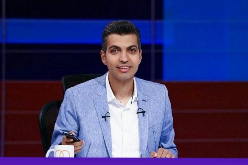 مجری محبوب برنامه تلویزیونی بر سر مزار سهراب سپهری+تصویر
