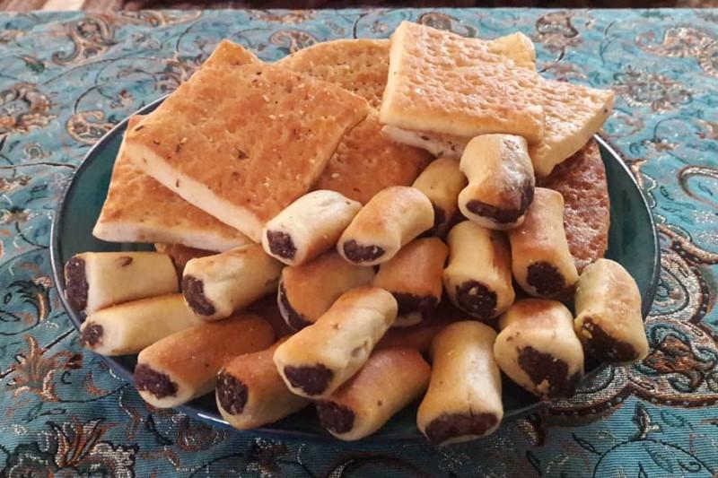 افطاری شب اول ماه رمضان؛ کلوچه معمول عربی