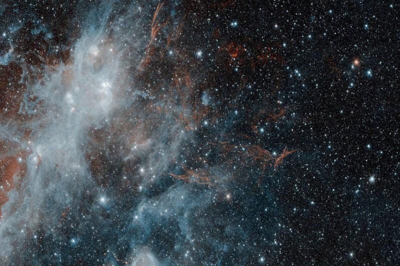 اولین اثر هنری فضا گم شد!