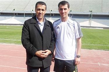 مسعود مرادی ناظر دیدار الجیش قطر با الشباب عربستان شد