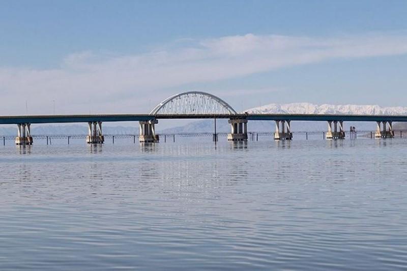 افزایش تراز آبی دریاچه ارومیه