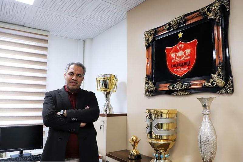 عرب:  افتخار هت تریک قهرمانی حق این پرسپولیس و هوادارانش است