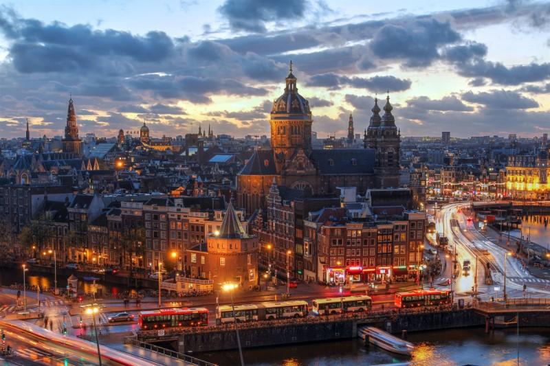 طرح آمستردام برای آلودگی هوا+تصاویر