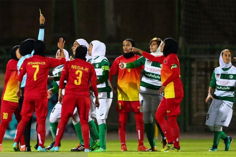 اتفاقی زشت در فوتبال بانوان +فیلم