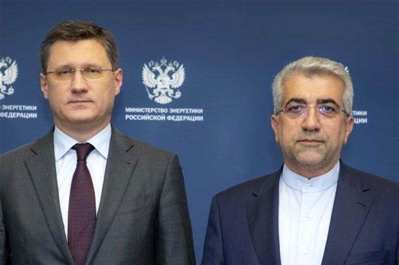 وزرای نیرو و انرژی ایران و روسیه در تماس تلفنی به تقویت روابط تجاری تاکید کردند