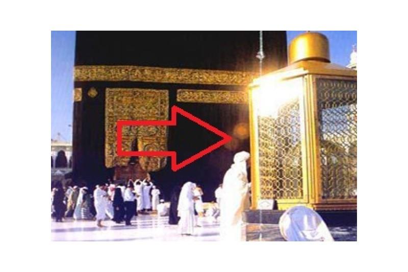 دستگیری مردی که قصد باز کردن درب مقام ابراهیم  را داشت+فیلم