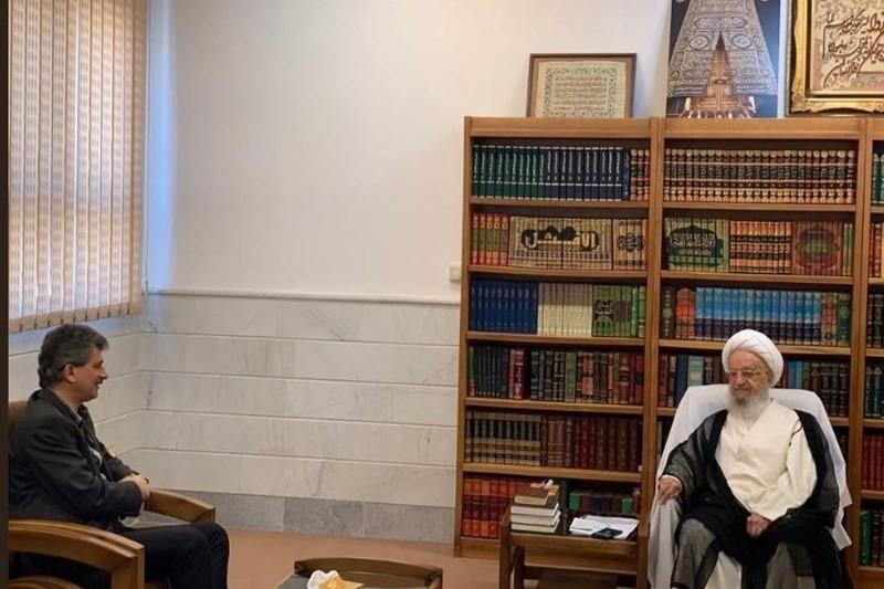 دیدار سفیر  ترکیه  آیت الله مکارم شیرازی
