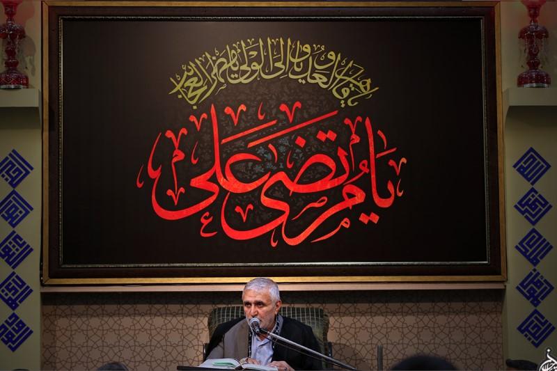 مراسم مسجد ارگ در شب بیستم ماه رمضان+تصاویر