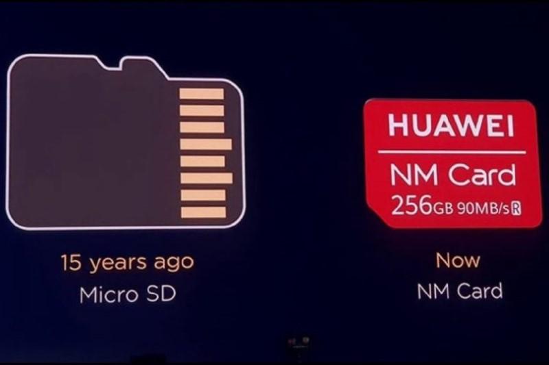 هوآوی به صورت رسمی نمیتواند از کارتهای حافظه micro SD  استفاده کند
