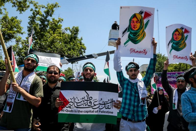 مسیرهای ۱۰ گانه راهپیمایی روز جهانی قدس در تهران