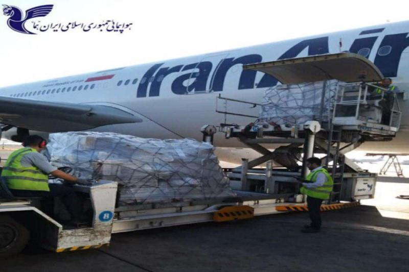 کمکهای انسان دوستانه از پاریس با  مساعدت هما به ایران انتقال یافت