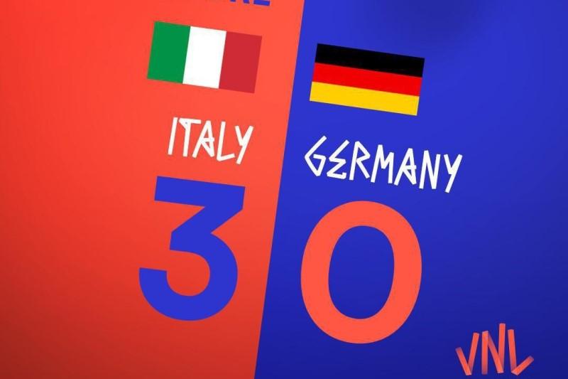 ایتالیا ۳ - ۰ آلمان ۰