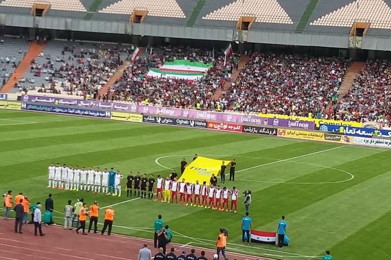 تیم ملی فوتبال ایران ۵ - سوریه صفر/برتری پرگل شاگردان ویلموتس برابر سوریه