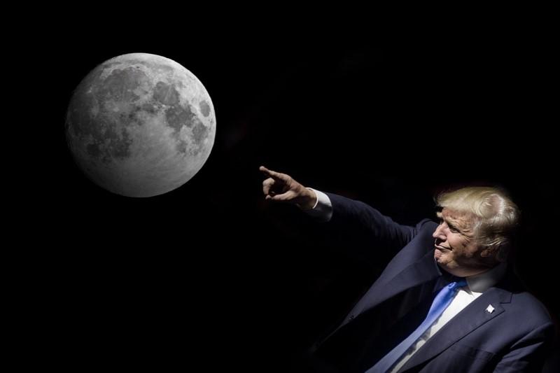 ادعای جدیددونالد ترامپ  در عرصه علم نجوم؛  کره ماه بخشی از مریخ است!