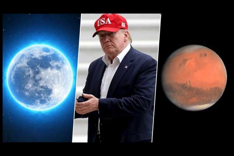واکنش کاربران به سوتی نجومی دونالد ترامپ +تصاویر