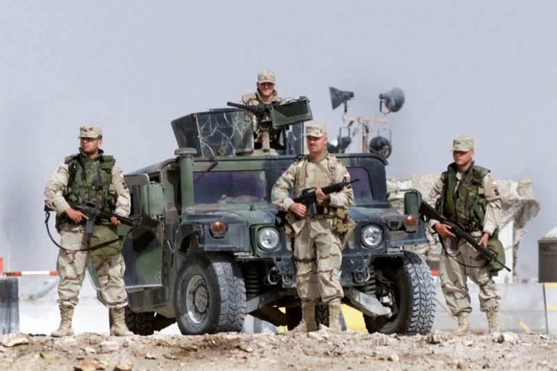 ارتش پوشالی آمریکا در برابر انسان های آزادی خواه راه جایی ندارد