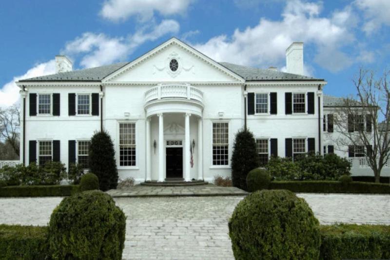 عمارت اعیانی رئیسجمهور آمریکا و همسر اولش به سبک کاخ سفید+ تصاویر
