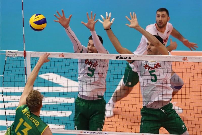 پیروزی بلغارستان  مقابل استرالیا
