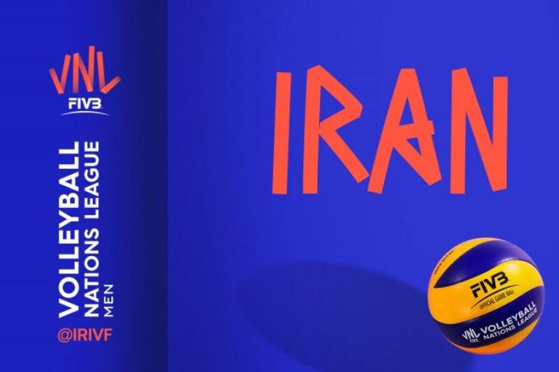برنامه رقابتهای لیگ ملتهای والیبال