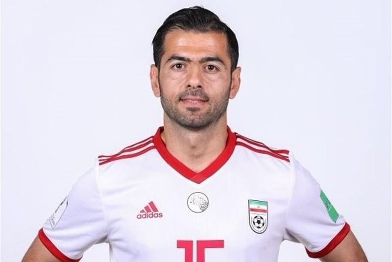 مدافع تیم ملی ایران پس از ۱۱ سال  خداحافظی کرد