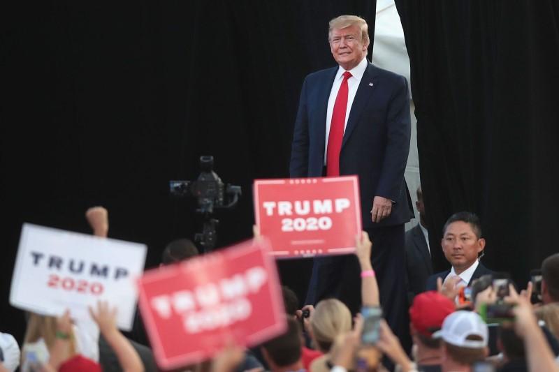 رئیسجمهور آمریکا رسماً از راه اندازی ستاد انتخاباتی خود خبر داد