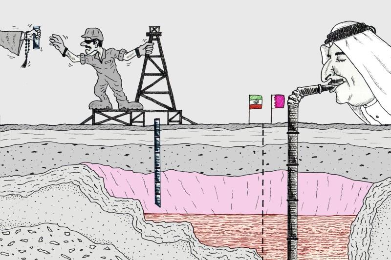 اطلاعات میدان گازی پارس جنوبی در اختیار قطر