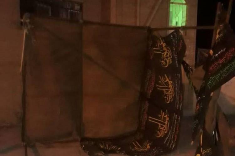 ایلام: تخریب موکب عزای امام حسین (ع) به بهانه نداشتن مجوز+ تصاویر
