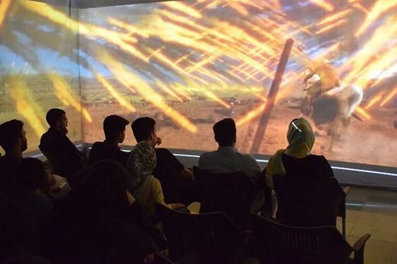 گلستان: نمایش سهبعدی واقعه کربلا در «خیمه سقا»+ تصاویر