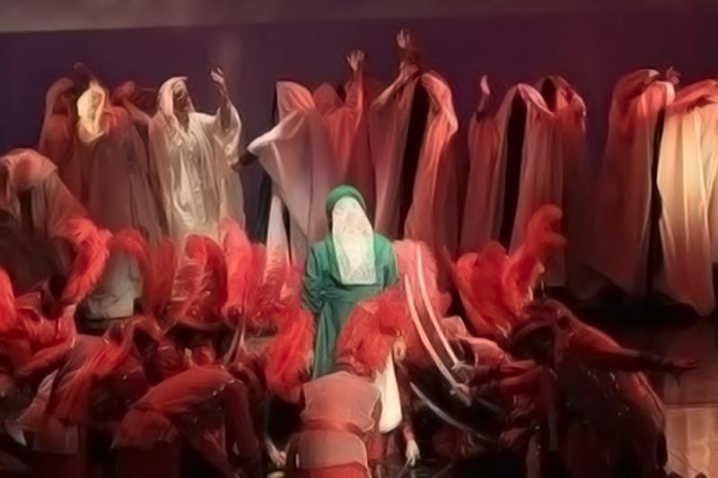 مازندران: آملیها میزبان دومین همایش فرهنگی هنری «اشکواره حسینی»