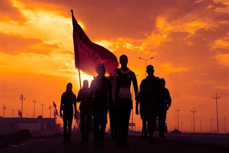 روایت هنرمندان از سفر پیاده روی اربعین