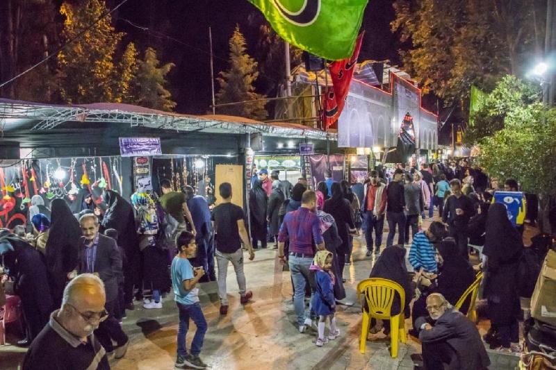 خدمت رسانی به جاماندگان اربعین حسینی در گرگان + تصاویر