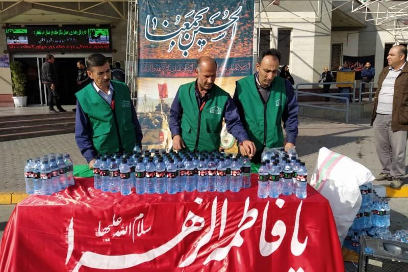 خدمت رسانی ۳۰ خادم در موکب مردمی شهید باکری بازرگان