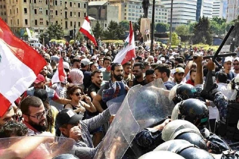 اعتراضات عراق و لبنان در عالم مجازی و حقیقی
