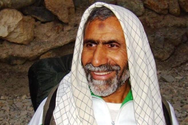 نقاشی چهره شهید مدافع حرم حاج سید حمید تقویفر