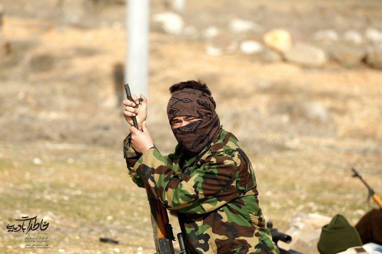 دلاورمردی افغانستانیها در برابر نیروهای داعش را به تصویر کشیدم