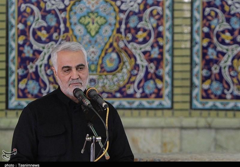 برگزاری مراسم تشییع سردار حاج قاسم سلیمانی و یاران شهیدش در عراق
