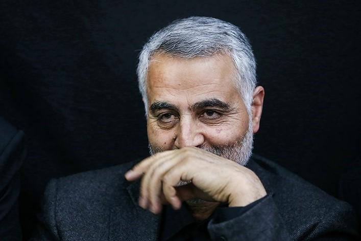 آغاز مراسم وداع با پیکر سردار شهید سلیمانی از کاظمین