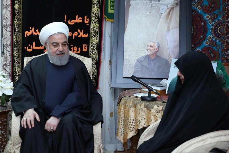 شهید سلیمانی در تاریخ ملت ایران و آزادیخواهان جهان سرافراز و جاودانه خواهد ماند
