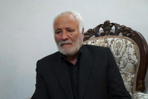 پدر شهید مدافع حرم علی آقایی دعوت حق را لبیک گفت