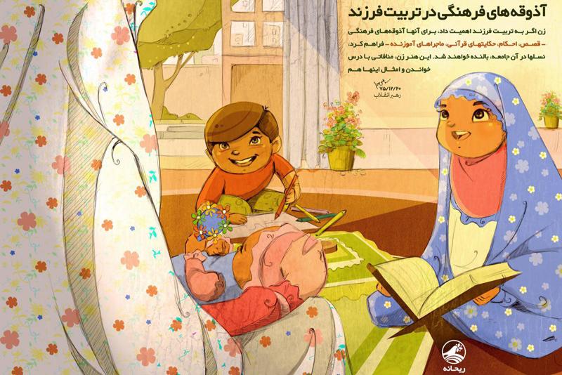 قرآن و اهمیت آداب تربیت فرزندان