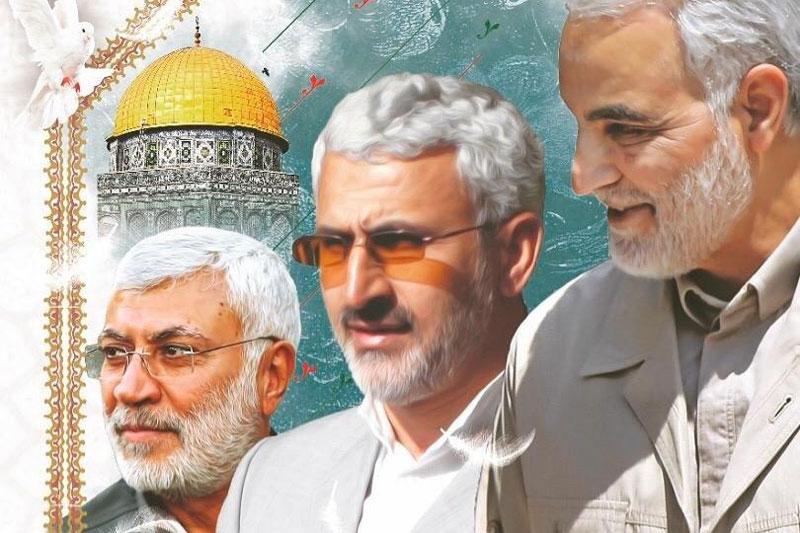 برگزاری یادبود چهلمین روز شهادت فرماندهان جبهه مقاومت و گرامیداشت سالروز آسمانی شدن سردار شهید « حسن شاطری »