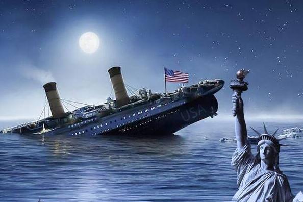 عکس نوشت| آمریکا غرق خواهد شد