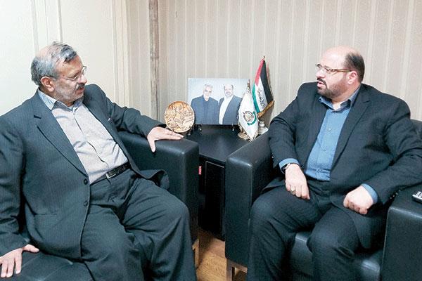 حاج قاسم سلیمانی شریک مبارزات مردم فلسطین بود