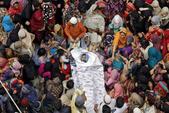 اعلام حمایت جامعه ایمانی مشعر از عموم مسلمانان جهان به ویژه مسلمانان هندوستان