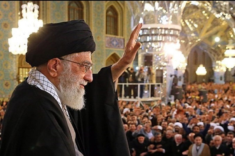 مراسم سخنرانی حضرت آیت الله خامنهای در روز اول سال نو در حرم مطهر رضوی برگزار نمیشود