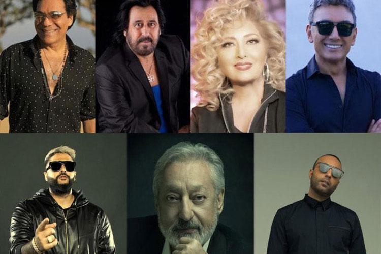 کنسرت خوانندگان لسآنجلسی در عربستان