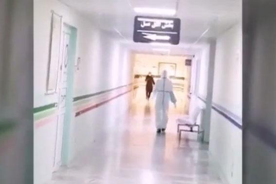 فیلم| فعالیت ماماهای بیمارستان شهید مصطفی خمینی شهرستان مهران در روزهای کرونایی