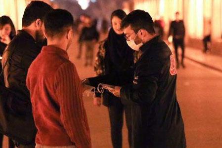عکس| توزیع ماسک رایگان در اصفهان