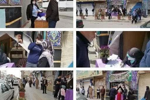 عکس| ایستگاه سلامت قرارگاه جهادی مبارزه با کرونا استان البرز